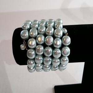 Monet memory wire bracelet  j144